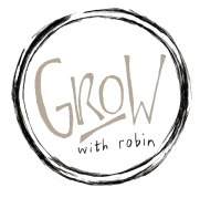 Grow with Robin Logo