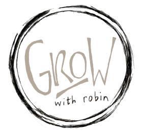 Grow with Robin Logo